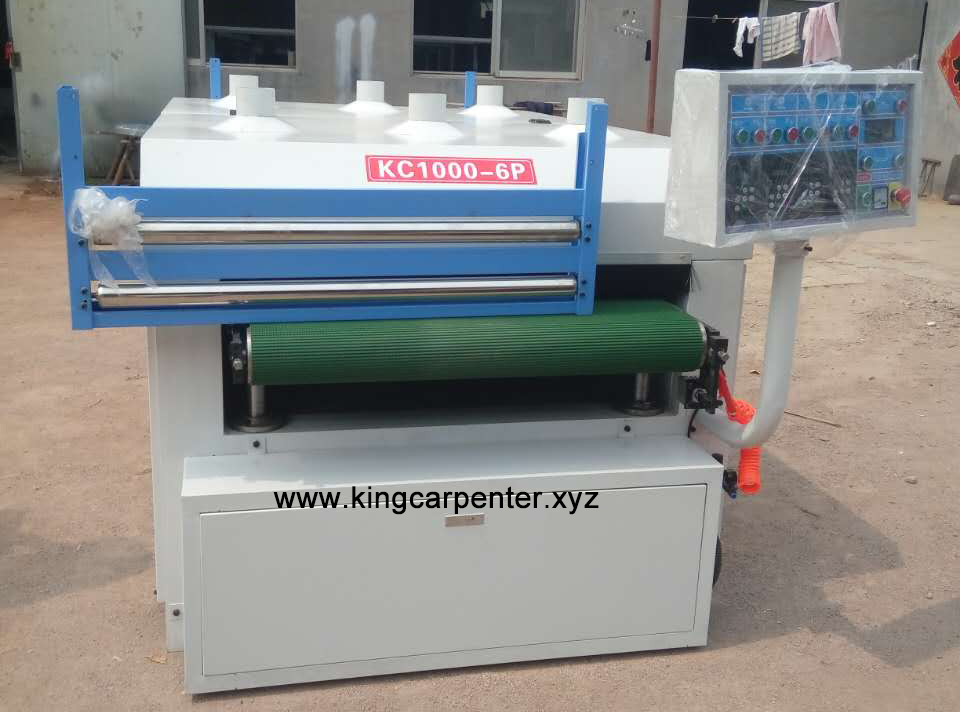 Roller Wire Brush Machine